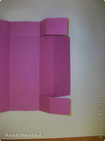 Вот такую открыточку коробочку я сделала по просьбе мастериц. В этот раз она получилась как раз по размеру карточки АТС. фото 10