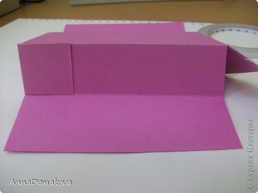 Вот такую открыточку коробочку я сделала по просьбе мастериц. В этот раз она получилась как раз по размеру карточки АТС. фото 14