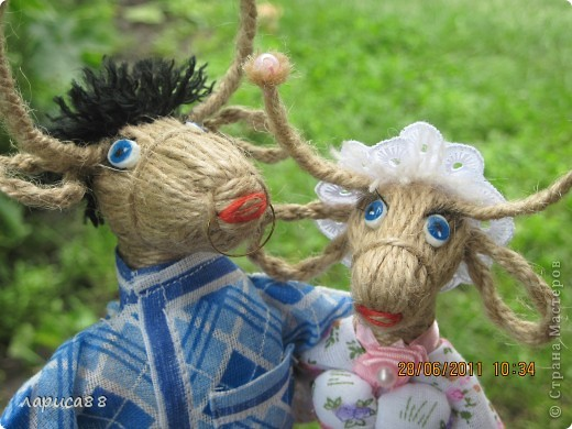 Попросили сделать быка и корову. фото 5