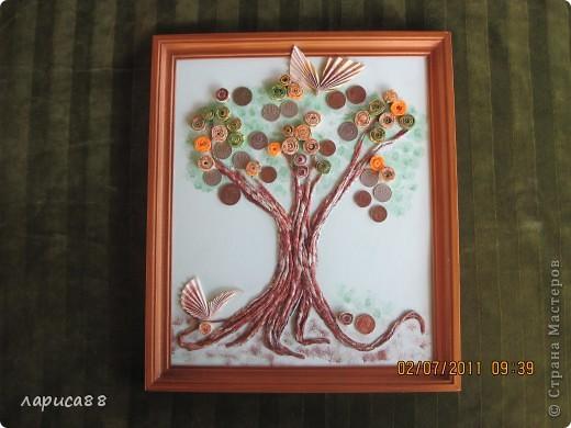 Денежное деревце в подарок зятю. фото 1