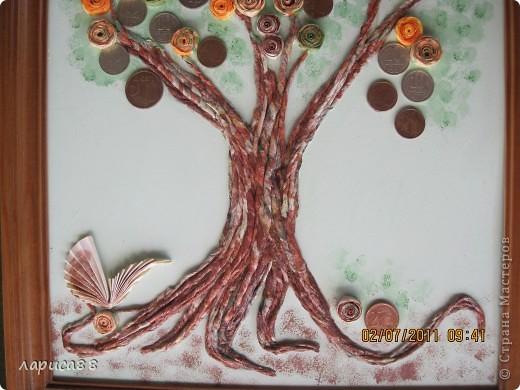Денежное деревце в подарок зятю. фото 3