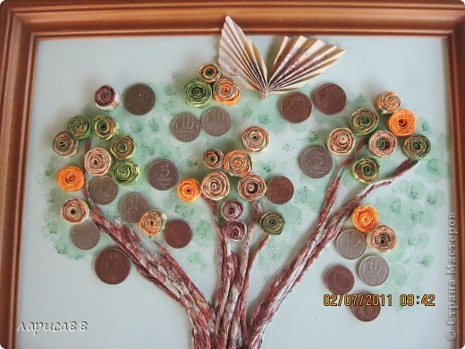 Денежное деревце в подарок зятю. фото 2