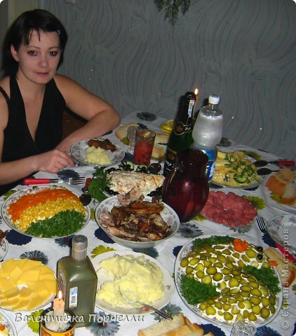 Ну вот и я решила немножко похвастаться своими кулинарными творениями)))Дело было на Новый Год..... фото 1