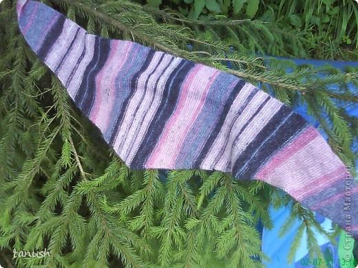 Нитки YarnArt  Angora Batik 50%мохер 50%акрил 440м. Ширина бактуса 30см, длина 1м40см фото 3