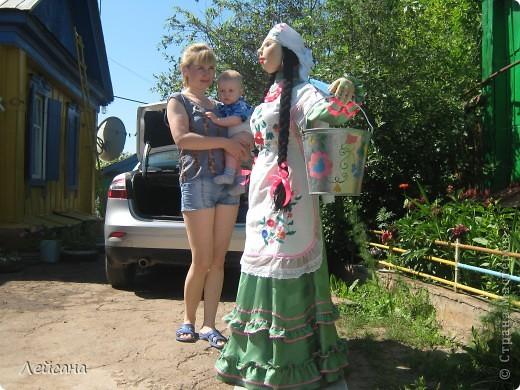 Творили мы нашу девушку с сестрой, блог Гузель http://stranamasterov.ru/user/52631. Еще помогала и средняя сестра, т.к. сроки поджимали. Пришлось  и по ночам трудиться. Одна бы я не справилась, очень много работы... фото 7