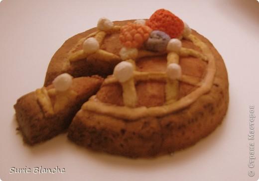 Пирог из соленого теста