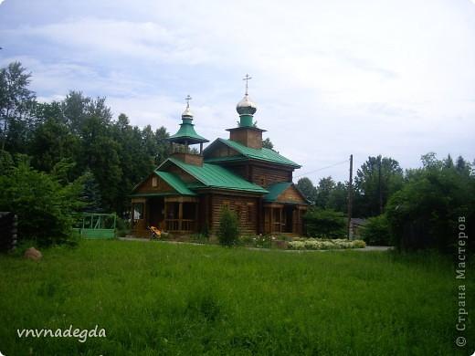 Наш красавец храм в честь св.прп.Варнавы Ветлужского. фото 19