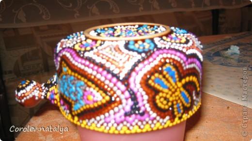 Здравствуйте,мастера и мастерицы!По просьбам как и обещала сделала МК по росписи глиняной плошечки( по размеру она чуть больше розетки). И так начнем: фото 9