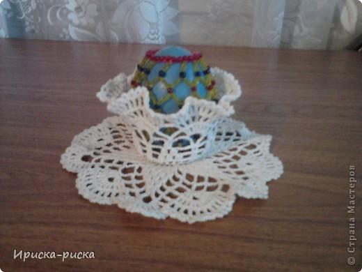 Яйцо с подставкой. фото 1