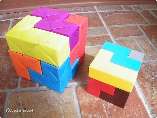 Оригами Оригами Кубики для