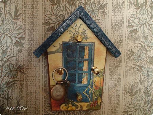 Теперь у меня дома есть такая ключница! фото 6
