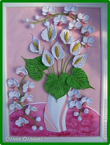 Добрый день жители СМ!На этот раз на белый свет появился дуэт: каллы и орхидей. фото 2