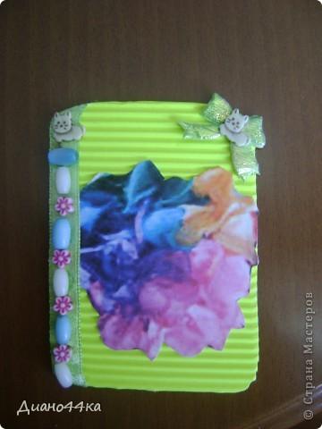 """Решила попробовать делать карточки АТС.Вот первая серия """"Радужные цветы. фото 10"""