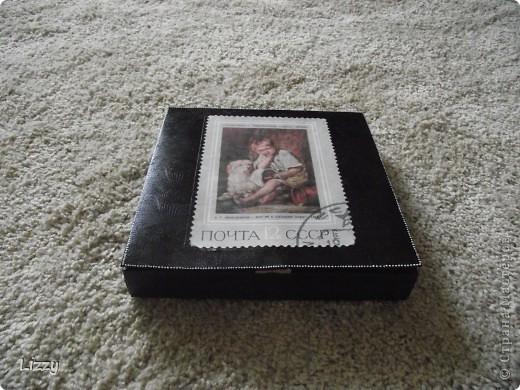 Коробка из-под конфет Комильфо, распечатка фото 2