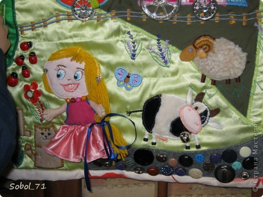 Подробнее про один из ковриков http://stranamasterov.ru/node/210578  Этот коврик был сделан в подарок на 1-й день рождения племяннице фото 8