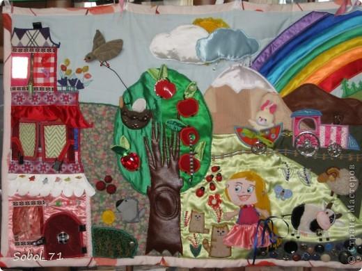 Подробнее про один из ковриков http://stranamasterov.ru/node/210578  Этот коврик был сделан в подарок на 1-й день рождения племяннице фото 1