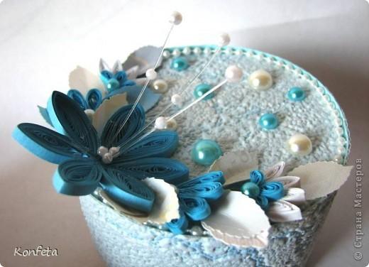 Голубые цветы фото 3