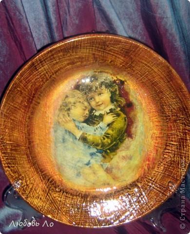 Рисовая бумага с рисунком, клей ПВА, краски акриловые, лак. фото 3