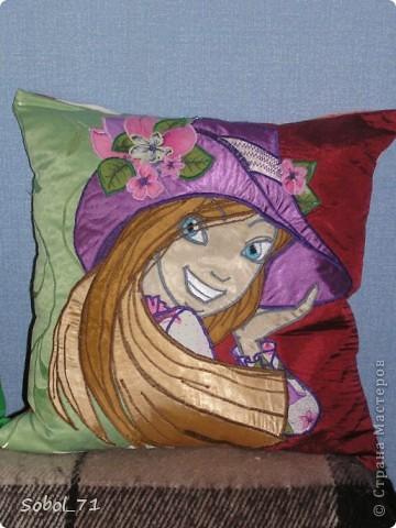 Пришлось пошить для дочки , т.к не поделили с младшим его подушки      http://stranamasterov.ru/node/210598