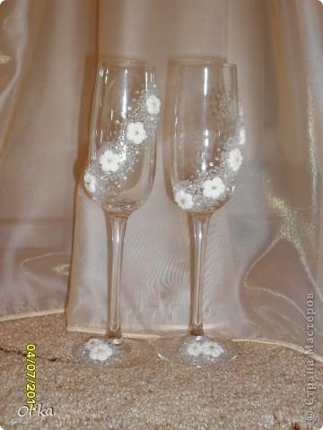 Свадебные фужеры фото 6
