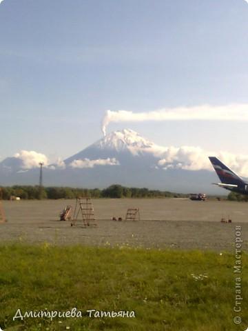 Вид из аэропорта г.Елизово фото 1