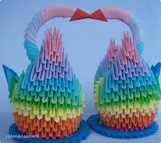 Радужные лебеди фото 1