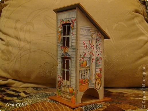Вот тоже построила себе домик для чайных пакетиков фото 1