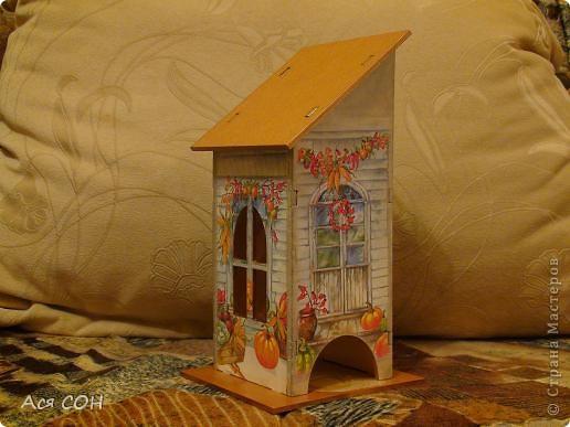 Вот тоже построила себе домик для чайных пакетиков фото 2