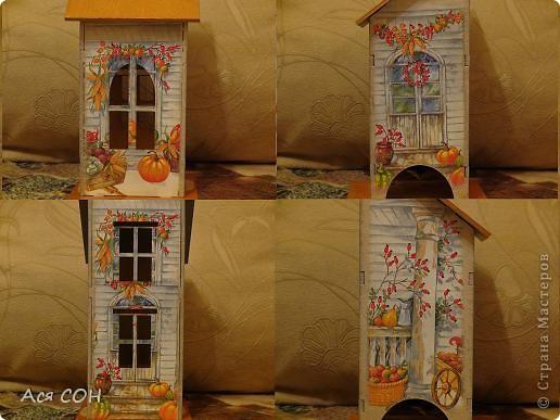 Вот тоже построила себе домик для чайных пакетиков фото 4