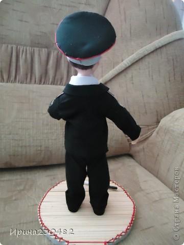 """Портретная кукла """"Гаишник"""" (в парадном костюме) фото 6"""