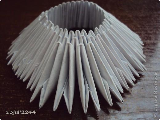 Мастер-класс Поделка изделие День рождения Оригами китайское модульное МК КОШЕЧКА Бумага Клей фото 5