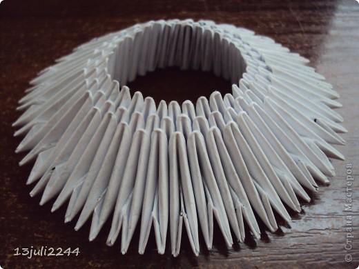 Мастер-класс Поделка изделие День рождения Оригами китайское модульное МК КОШЕЧКА Бумага Клей фото 6
