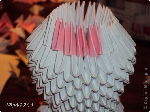 Мастер-класс Поделка изделие День рождения Оригами китайское модульное МК КОШЕЧКА Бумага Клей фото 25