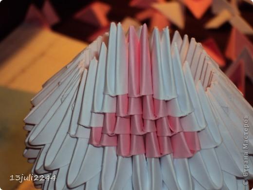 Мастер-класс Поделка изделие День рождения Оригами китайское модульное МК КОШЕЧКА Бумага Клей фото 28