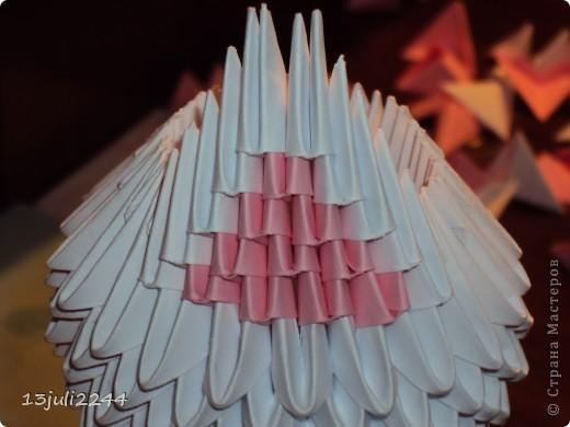 Мастер-класс Поделка изделие День рождения Оригами китайское модульное МК КОШЕЧКА Бумага Клей фото 29