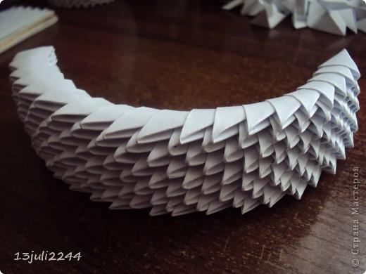 Мастер-класс Поделка изделие День рождения Оригами китайское модульное МК КОШЕЧКА Бумага Клей фото 35