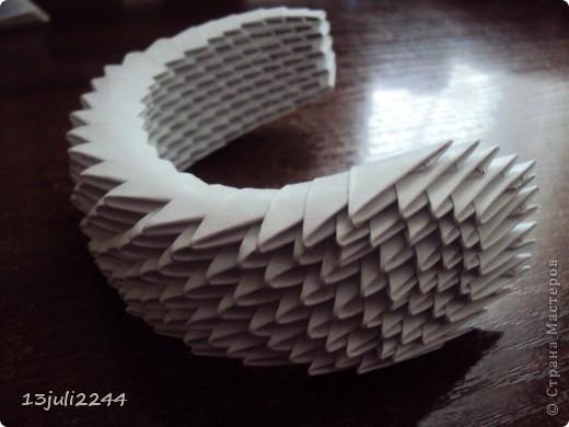 Мастер-класс Поделка изделие День рождения Оригами китайское модульное МК КОШЕЧКА Бумага Клей фото 38