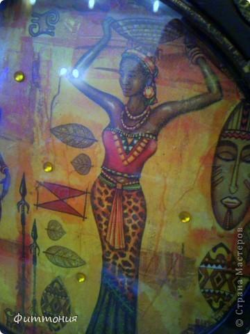 Салфеточки навеяли Африканскую тему. фото 5