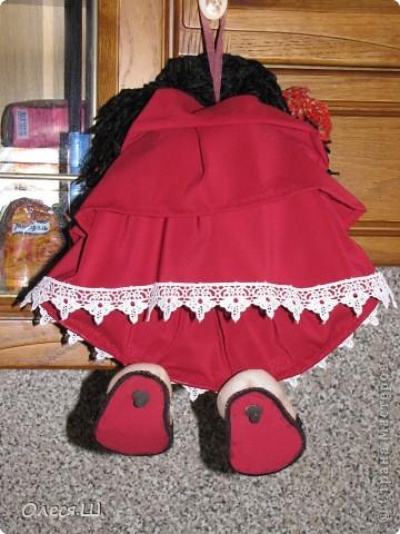 Здравствуйте! Знакомьтесь, это Кармелита)))) Моя вторая куколка попик. Влюбилась в них, не могу оторваться теперь, фантазирую и шью. Еленочка (pawy), спасибо огромное за мастер классы))))) фото 2