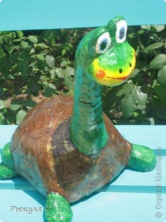 Черепаха из пенопласта своими руками