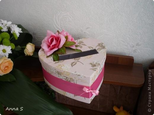 В эту коробочку наши гости клали конвертики с деньгами!