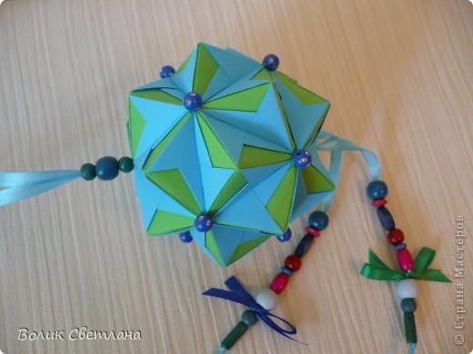 И снова моя любимая Томоко Фусе. Моделька из книги Floral Globe. В такой расцветке она похожа на василек (так мне кажется) фото 2