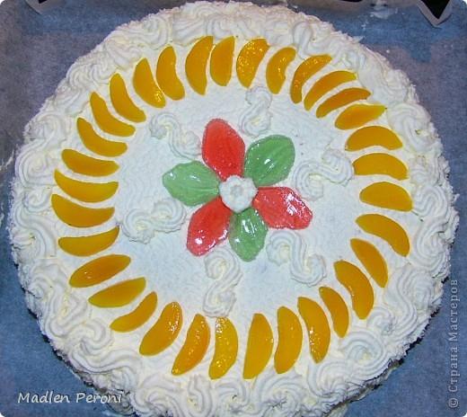 Творожный тортик на день рождения мамуле. фото 1