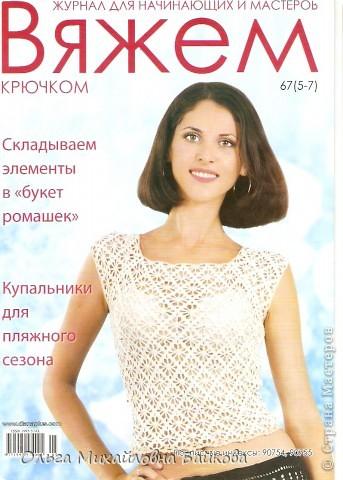 Купила журнальчик№67(5-7),в нём один из вариантов паучков. фото 1