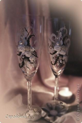 эх, на мою бы свадьбу такие бокалы...но я тогда бы не осилила... фото 1