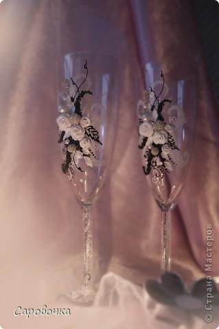 эх, на мою бы свадьбу такие бокалы...но я тогда бы не осилила... фото 2