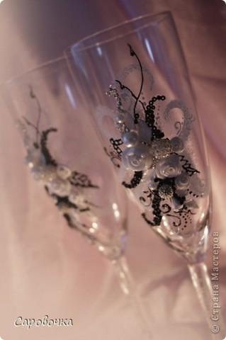 эх, на мою бы свадьбу такие бокалы...но я тогда бы не осилила... фото 4