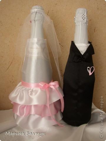 Свадебные бутылочки фото 5