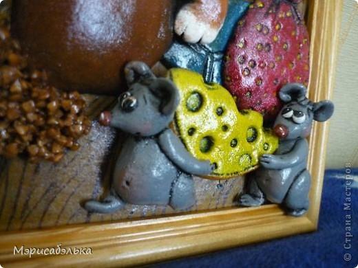 Вот такое получилось мышино-кошачье счастье по мотивам М .Федотовой.Размер 21 на30. фото 8