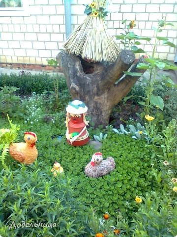 Птичница с куриной семейкой. фото 1